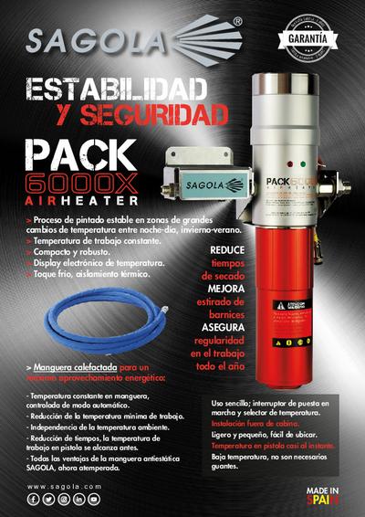 Calentador aire Pack 6000X