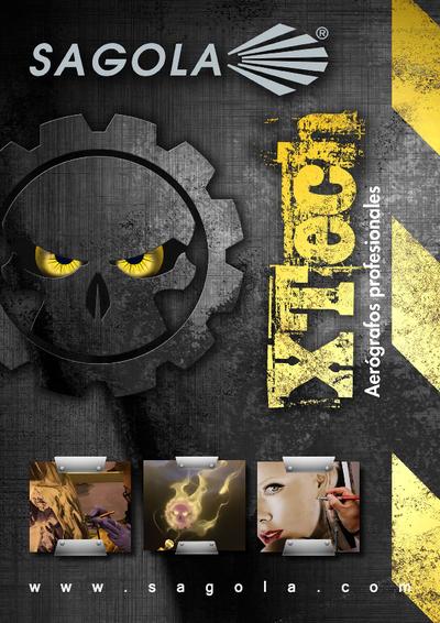 Catálogo Aerógrafos XTech
