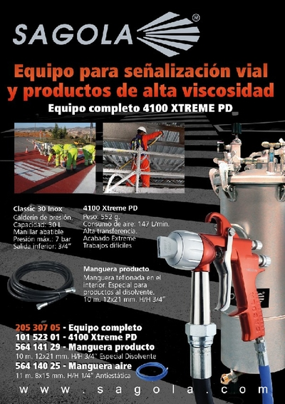 Equipo completo 4100 Xtreme PD