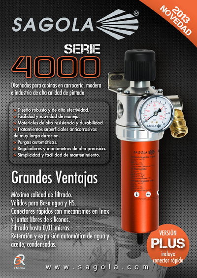 Filtros Serie 4000