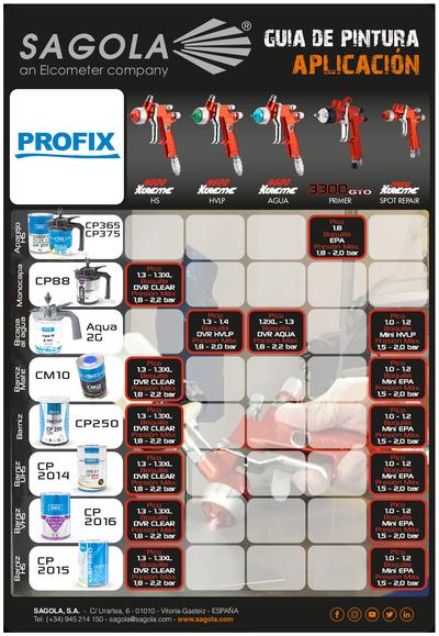 Guía aplicación Profix