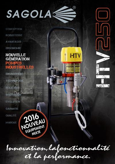 HTV 250 Brochure technique