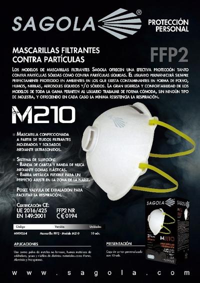 Mascarillas M210