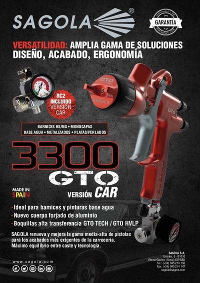 Pistola 3300 GTO CAR