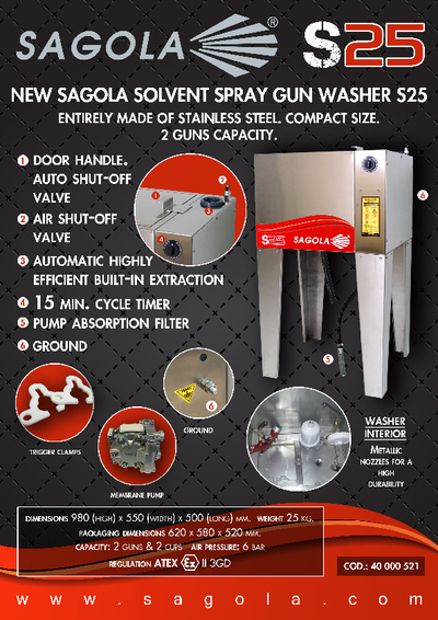 S25 Washer