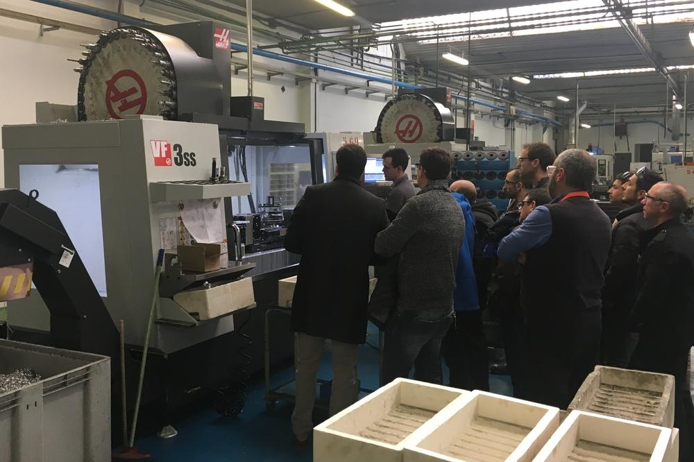 Visita de talleres de carrocería