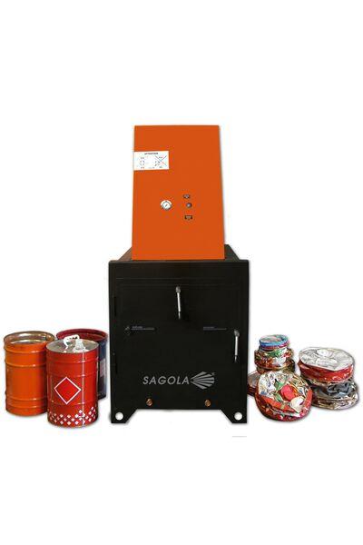 Compactador de latas y cartón