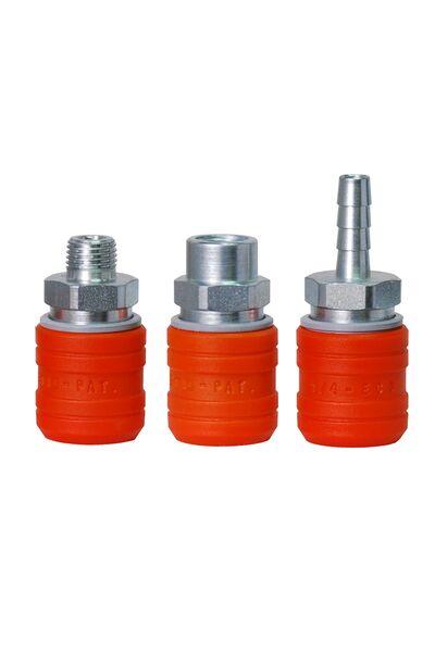 Enchufe US-Mil T2 Acero y Composite - Seguridad