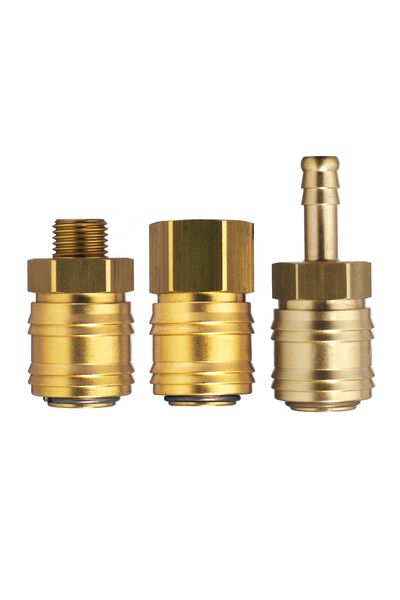 Quick Coupling US-Mil T2 Brass