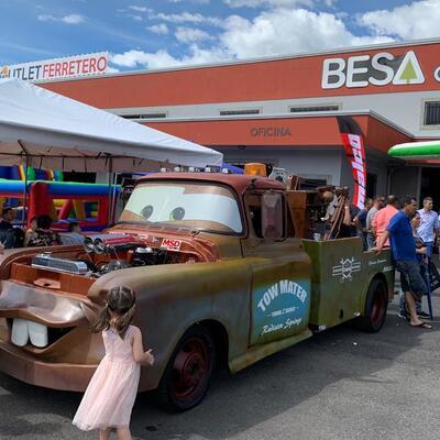 Sagola at the Comercializadora Automotriz 4J Automotive exhibition in Costa Rica