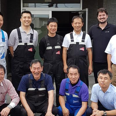 TRAINING SESSIONS AT AXALTA HEADQUARTERS IN JAPAN, THAILAND AND SOUTH KOREA