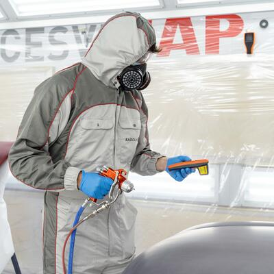 We present at cesvi our range of industrial painting and inspection equipment
