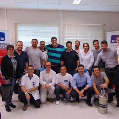 Curso capacitacion industrial Roberlo do Brasil
