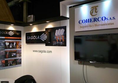 Importador de SAGOLA en la Feria Internacional de BOGOTÁ