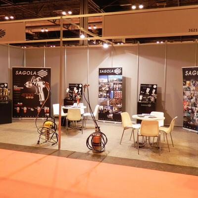 SAGOLA estuvo presente en Expocadena 2013