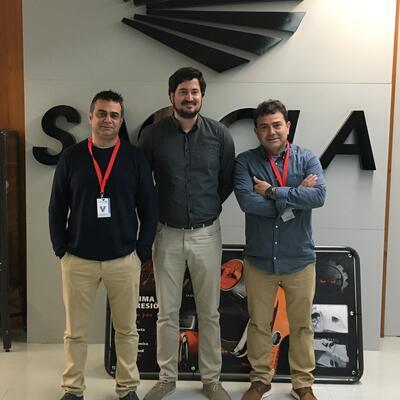 BS visit Sagola