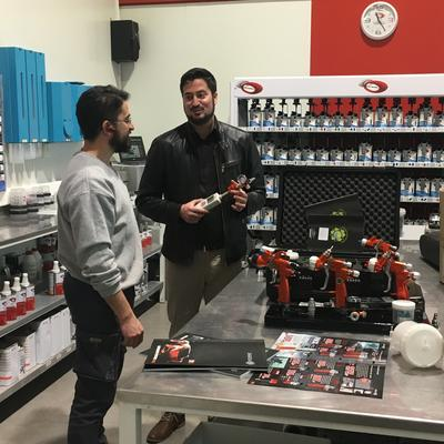 Sagola products at the General Paint training center